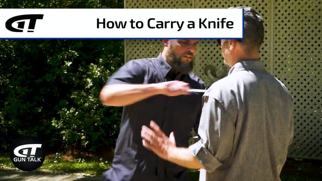 Blade School Prep: What and How to Carry