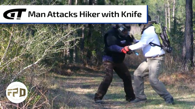 Day Hiker Fights off Knife Attack