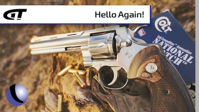 Colt's Iconic Python Revolver