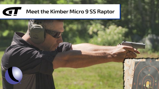 Concealable Power - Kimber's Micro 9 Stainless Raptor