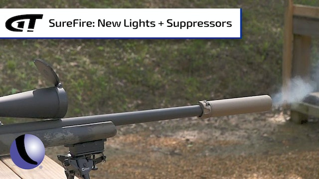 Suppressor Advantages and Every Day Carry Lights from SureFire