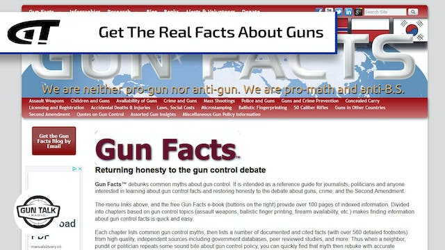 The Real Facts about Guns and Control