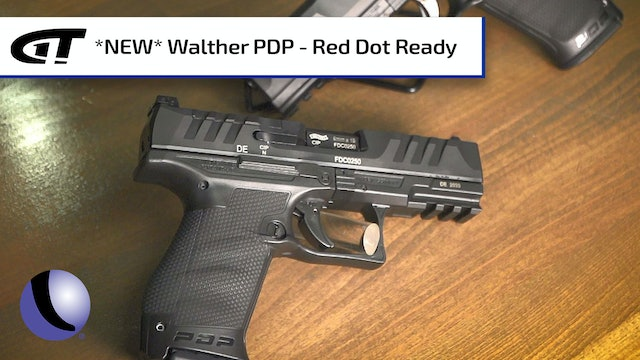 Walther's New PDP - Ergonomic and Red Dot Ready