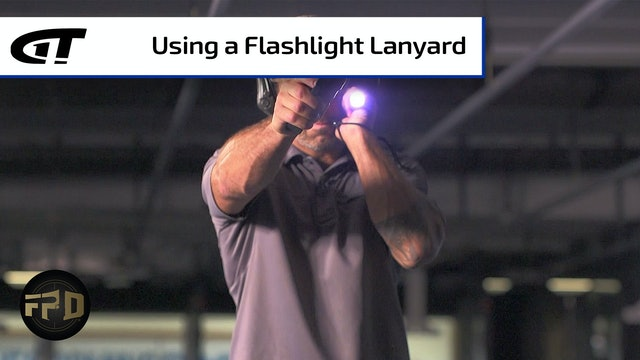 Using a Flashlight Lanyard with Your Pistol