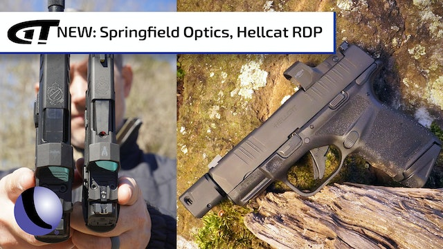 NEW! Springfield Armory's Hellcat RDP, HEX Red Dots