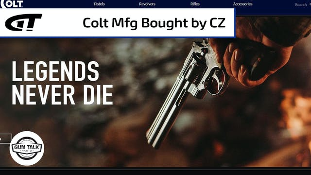 CZ Purchases Colt