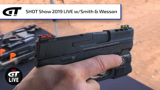 Ported Shield, Rifle Upgrades from Smith & Wesson