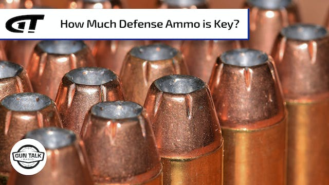 Self-Defense: How Many Rounds of Ammo...