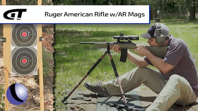 Ruger American Rifles with AR/AI Magazines