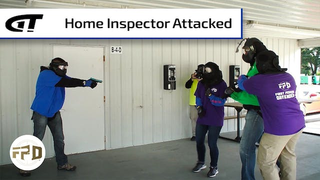 Squatter Attacks Home Inspector