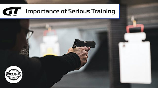 Get Serious About Handgun Training Now