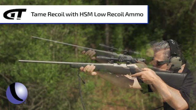 HSM Low Recoil Ammo - Reduce Recoil b...