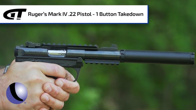 Ruger Mark IV - One-Button Takedown