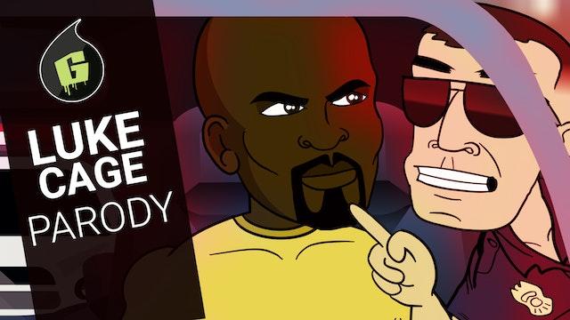 Luke Cage Cartoon Parody   Uncaged