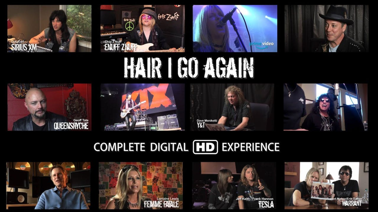 Hair I Go Again | Digital HD Download & Streaming