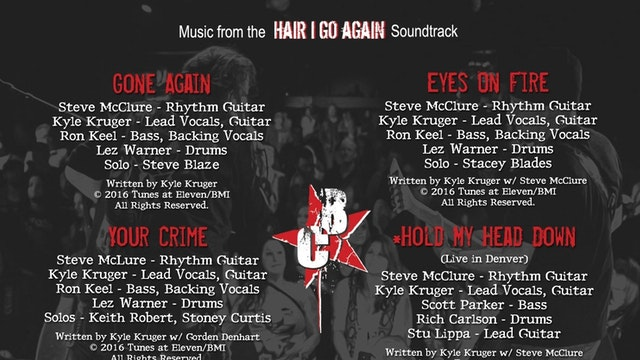 Hair I Go Again Digital Soundtrack EP
