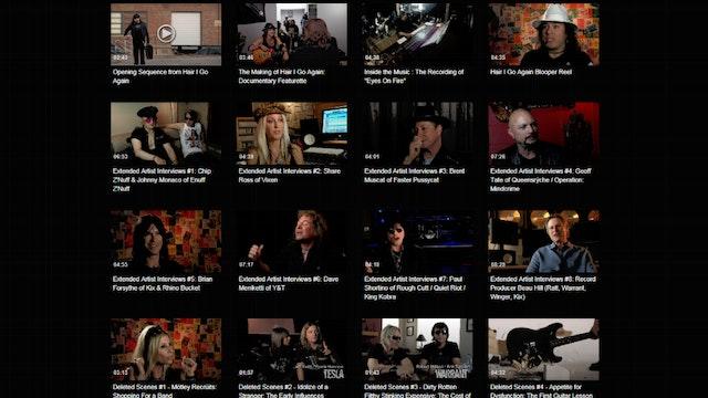 Hair I Go Again | Behind the Screen: HD Special Features & Bonus Extras