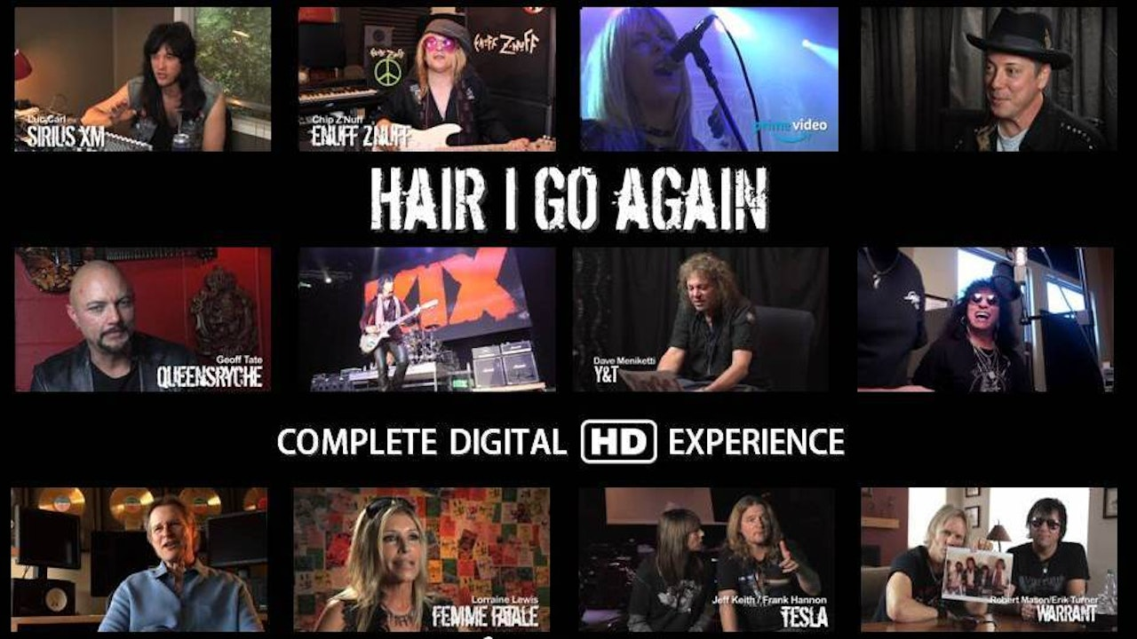 Hair I Go Again | Complete Digital HD Download & Streaming Experience