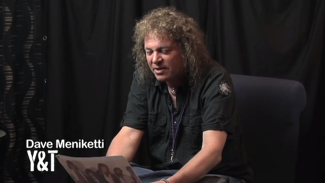 Behind the Screen | Dave Meniketti of Y&T
