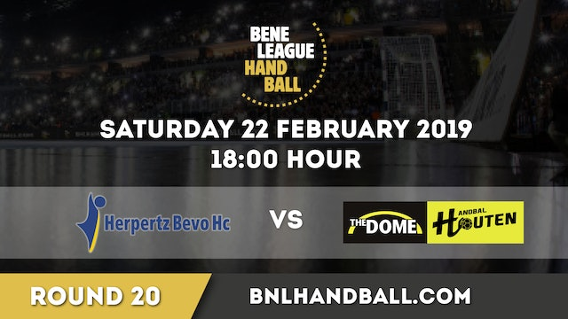 Herpertz / Bevo HC vs The Dome/Handbal Houten