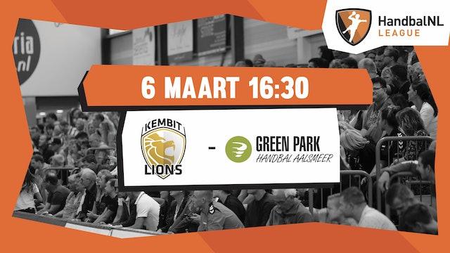 KEMBIT-LIONS vs Green Park/Handbal Aalsmeer