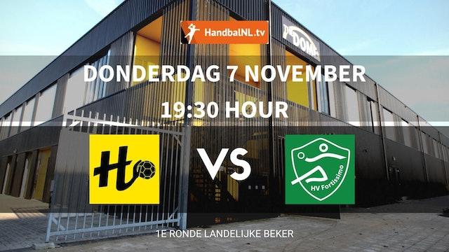 Beker Dames: Handbal Houten vs. HV Fortissimo