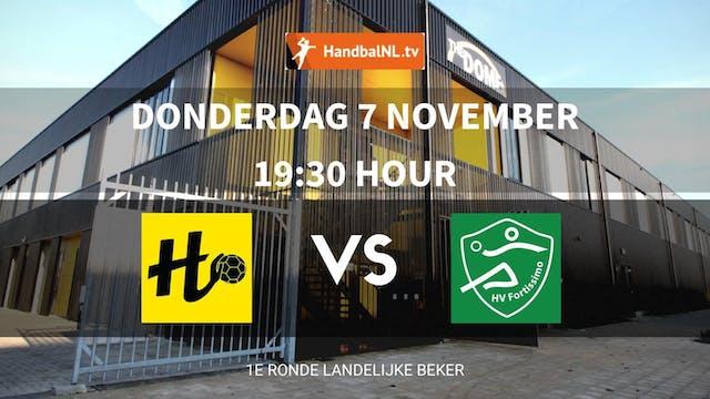 Beker Dames: Handbal Houten vs. HV Fo...