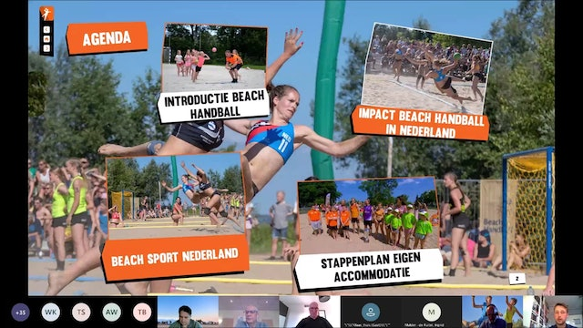 Webinar Aanleg Beach Handball Accommodaties