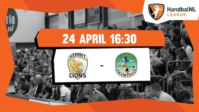 KEMBIT-Lions vs JD Techniek/Hurry-up