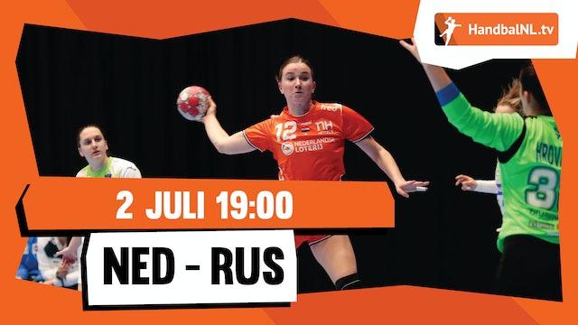Drielandentoernooi: Nederland - Rusland