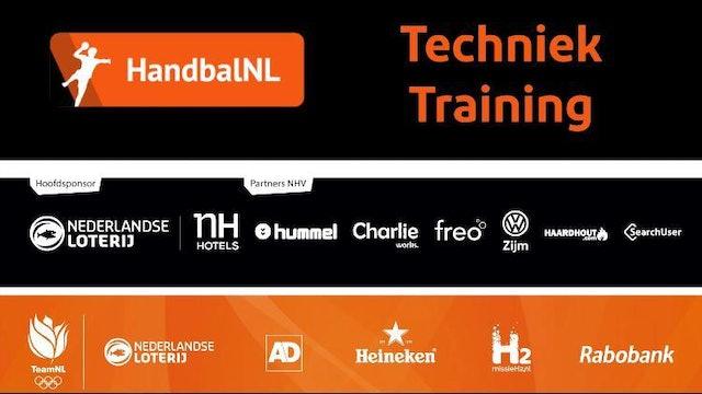 HandbalNL Techniek Training