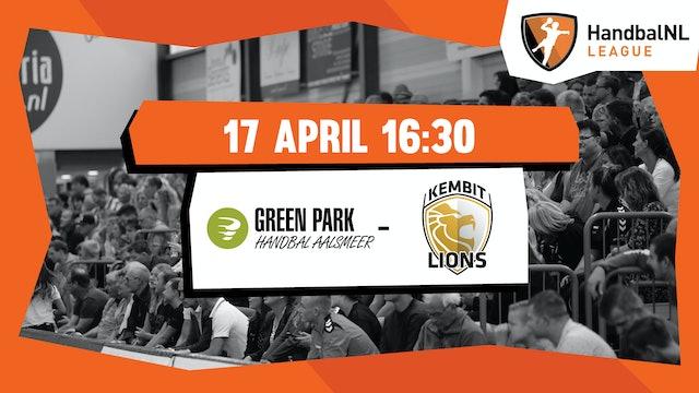 Green Park/Handbal Aalsmeer vs KEMBIT-Lions