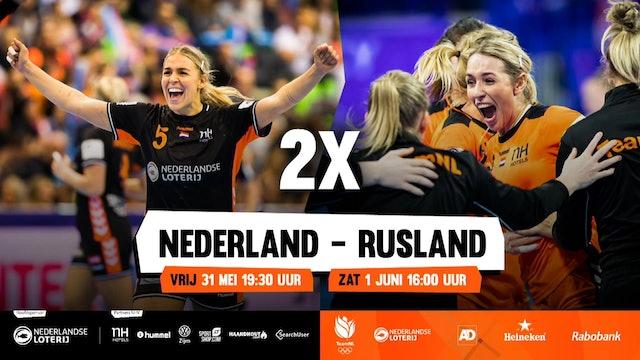 Oefeninterland: Nederland - Rusland