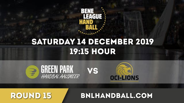 Green Park / Handbal Aalsmeer vs. OCI...