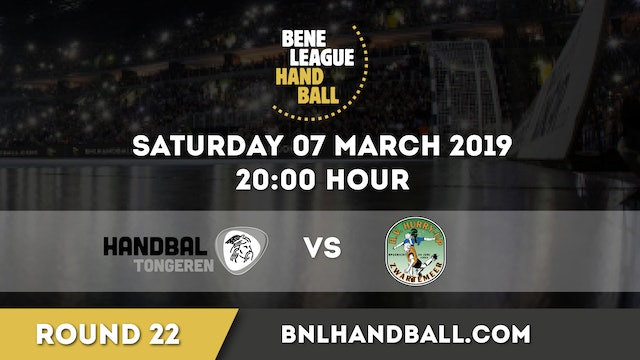 Handbal Tongeren vs JD Techniek / Hurry-Up