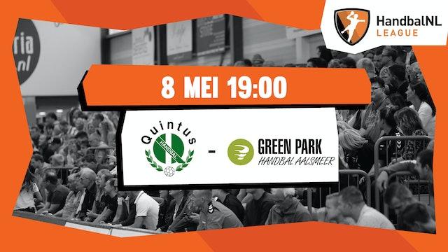 HV Quintus vs Green Park/Handbal Aalsmeer
