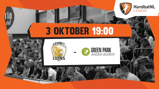 KEMBIT-LIONS vs Green Park/Handbal Aa...