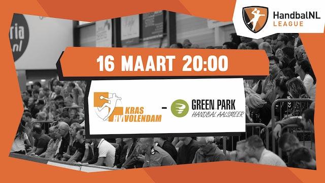 Kras/Volendam vs Green Park/Handbal Aalsmeer