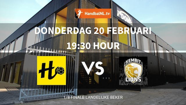 BEKER: The Dome/Handbal Houten vs KEM...