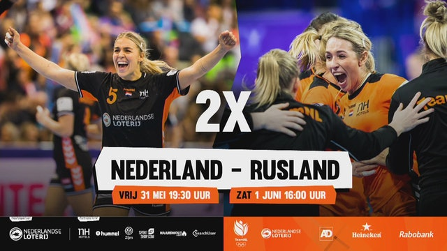 Oefeninterland II - Nederland vs Rusland