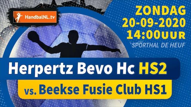 Herpertz Bevo HC HS2 - Beekse Fusie C...