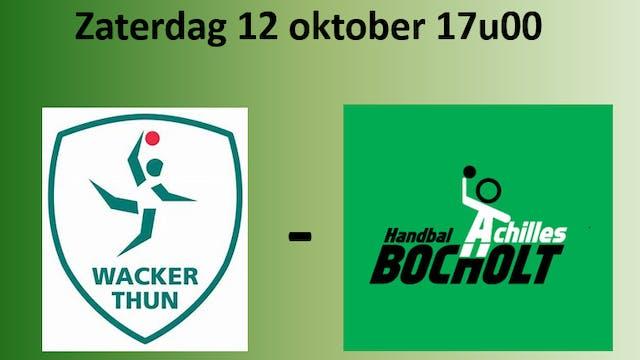EHF CUP: Wacker Thun vs Achilles Bocholt