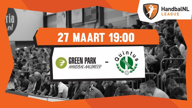 Green Park/Handbal Aalsmeer vs HV Qui...