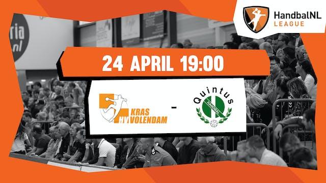 Kras/Volendam vs HV Quintus
