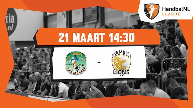 JD Techniek / Hurry-Up vs KEMBIT-LIONS
