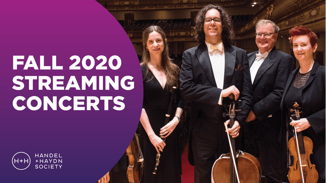 Fall 2020 Streaming Concerts