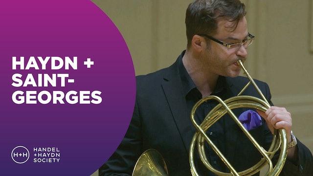 Haydn + Saint-Georges