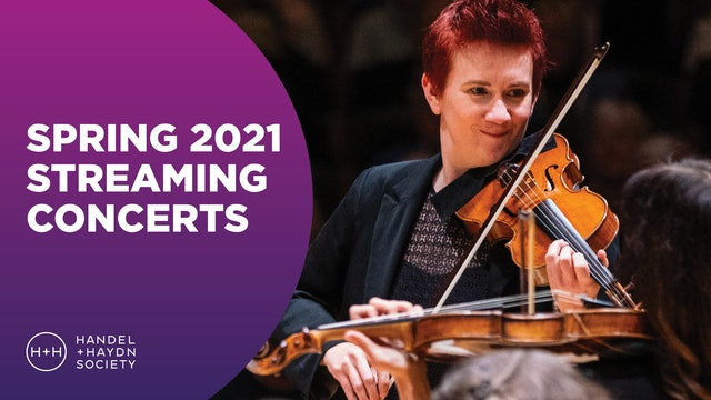 Spring 2021 Streaming Concerts
