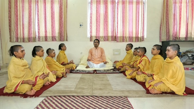 Invocation Prayer by SāmaVeda students of Rāṇāyaniya Branch