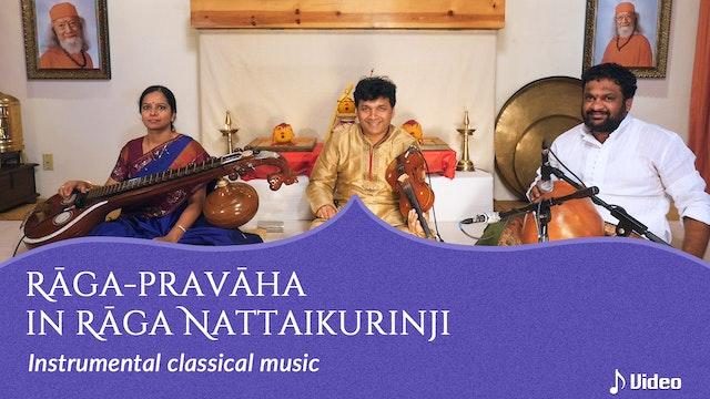 Rāga-pravāha in Rāga Nattaikurinji